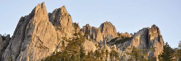 Castle Crags Wilderness, Siskiyou County