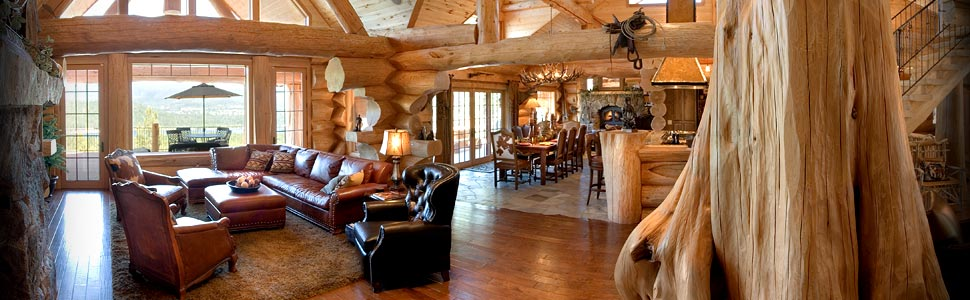 Luxury and pieceful log cabin retreat